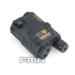 PEQ15 バッテリーケース REDレーザー付 (BK) FMA製|airsoftclub|02