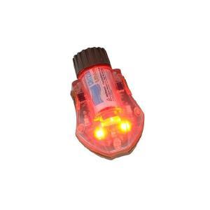 MantaStrobe ヘルメット用 LEDライト TYPE-2 RED/DE  FMA製|airsoftclub