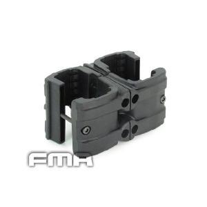 MP7用 ダブルマガジン クリップ (BK) FMA製|airsoftclub
