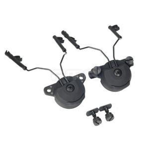 EX ヘルメット用 ヘッドセット アダプターGen1 Comtac用 BK  FMA製|airsoftclub