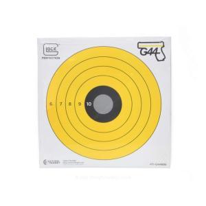 G44ブルズアイターゲット/10枚パック (size 8×8in)  GLOCK製|airsoftclub