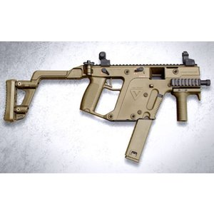 KRISS ベクター SMG (TAN)  ガスガン  KSC製 - お取り寄せ品|airsoftclub