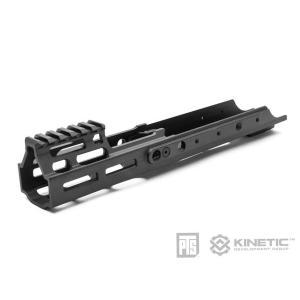 PTS Kinetic SCAR MREX M-Lok 4.9in レイルハンドガード (Black)  PTS製|airsoftclub