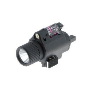 M6タイプ LEDフラッシュライト (リモートSW付) BK  PPT製|airsoftclub