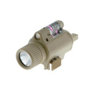 M6タイプ LEDフラッシュライト (リモートSW付) FDE  PPT製|airsoftclub