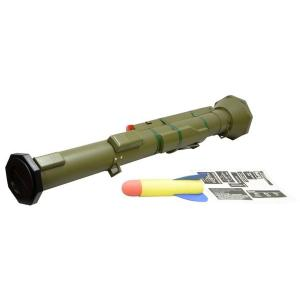 M136 AT-4 ロケットランチャー (ソフトスポンジロケット付属 40mmガスカート対応)  PPS製|airsoftclub
