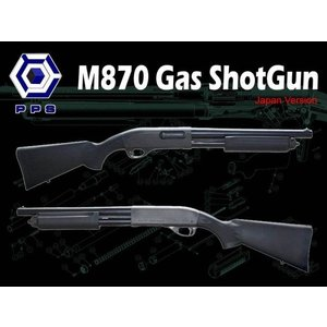 M870 ガスガン PoliceMagnum (日本仕様)    PPS製|airsoftclub