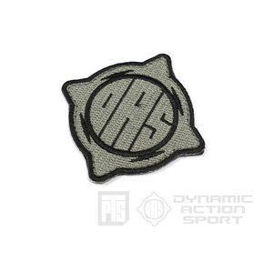 [Patches] DASロゴパッチ DinamicActionSport Gray  PTS-MAGPUL製|airsoftclub