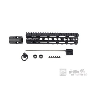 PTS Griffin Armament LowPro RIGID M-LOK レイルハンドガード 8.6in (BK)  PTS製|airsoftclub