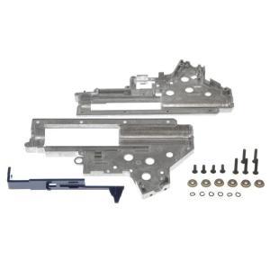 強化メカボックスケース 専用タペットプレート・軸受け付 (Ver.2/M4)  SHS製|airsoftclub