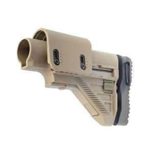 HK417/G28 スナイパーストック アジャスタブルチークレスト (TAN)  VFC/Umarex製 airsoftclub