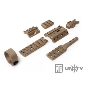 PTS UnityTactical FUSION Mounting System フュージョンマウント (DE)  PTS-MAGPUL製|airsoftclub