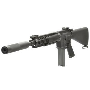 Colt Mk12Mod1(固定ストック OPSサプレッサー付) DX 電動ガン    VFC製|airsoftclub
