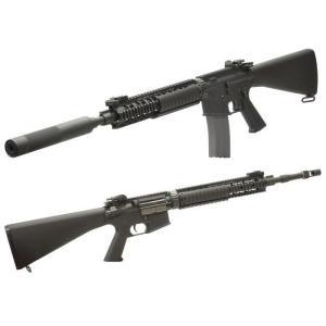 Colt Mk12Mod1(固定ストック OPSサプレッサー付) DX 電動ガン    VFC製|airsoftclub|02