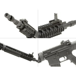 Colt Mk12Mod1 ガスガン 固定 Stock OPSサプレッサー付 DX (日本仕様/COLT Licensed)  VFC製|airsoftclub|05