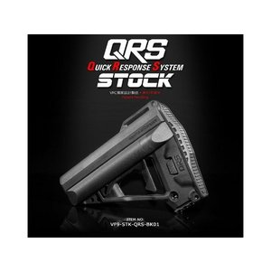 M4 QRS ストック QuickResponseSystem BK  VFC製|airsoftclub