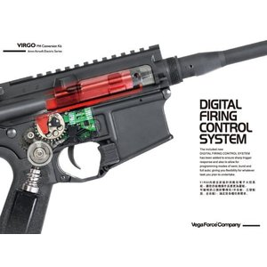 Virgo M4コンバージョンキット DigitalFiringControlSystem ブラシレスモーターversion (DX)  VFC製|airsoftclub