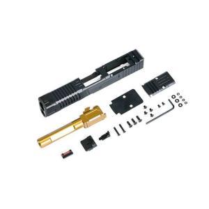 FI G19 MK1 CNCスライド アウターバレルセット (Goldバレル)  X-Craft製|airsoftclub