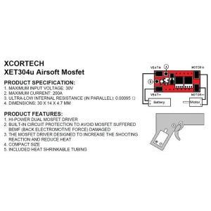 XET304u 電動ガン用MosFET (size 30.0*14.0*4.7mm)  XcorTech製|airsoftclub|03