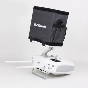 ※DJI Phantom4(モニター付)の送信機専用のサンフードです。 ※モニターを囲うように取付を...