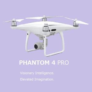 DJI Phantom 4 PRO 5方向障害物探知 4Kビデオ 1インチCOMSセンサー搭載 カメラ付き ドローン