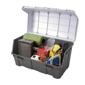大きく開くコンテナー 140L tw 屋外 収納ボックス ベランダ 灯油缶 収納 ポリタンク 大容量