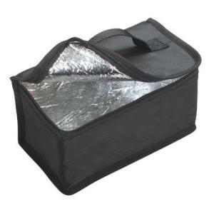 保冷バッグ付ジャンボ2段ランチボックス 1.3L モードライン BK(ブラック) tw 学生に、スポーツマンに、ガテン系に 特大弁当箱|airu-shop3|02