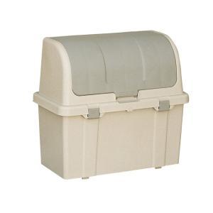 ゴミ箱 屋外 大容量 分別ストッカー ベージュ W220C (屋外用ゴミ箱 ベランダ ストッカー ごみ箱) tw 屋外用の大型ゴミ箱