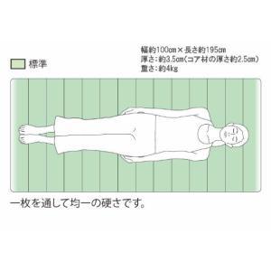 高反発マットレス 睡眠研究のエアウィーヴ 【エアウィーヴスマート025】 シングル|airweave|03
