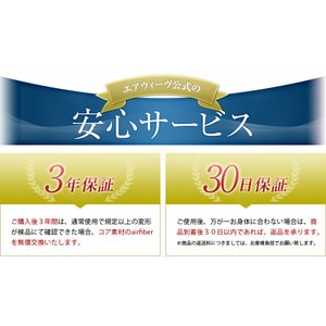 高反発マットレス 睡眠研究のエアウィーヴ 【エアウィーヴスマート025】 シングル|airweave|06
