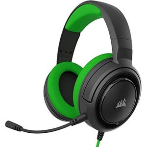 Corsair ゲーミングヘッドセット HS35 STEREO Stereo Gaming Headset -Green- PC PS4(グリーン)|airymotion