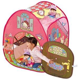 ぽぽちゃんお道具シリーズ ピンポーン♪&おしゃべりつき 2階だてぽぽちゃん家 airymotion
