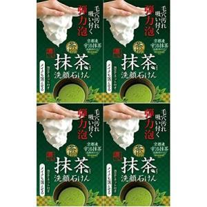 まとめ買い茶の粋 濃い洗顔石鹸M 100g (洗顔 メイク落とし 無添加)×4個 (4個)|airymotion