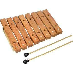 KC 木琴 Xylophone 8音 KXP-8 (演奏用マレット2本付属) (8音)|airymotion