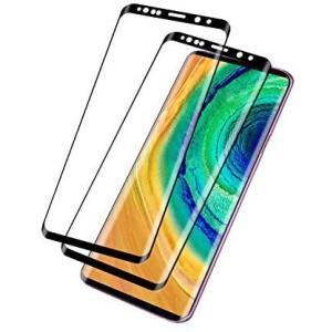 2020最新GalaxyS8 ガラスフィルム ギャラクシーS8 フィルム S8 強化ガラス (ブラック-2枚セット Galaxy S8) airymotion