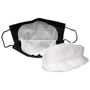 不織布フィルター 使い捨て 3層構造 パッド 夏用 保護取り替えシート 汚れを約99%シャットアウト 40枚 (真っ白) (真っ白)|airymotion