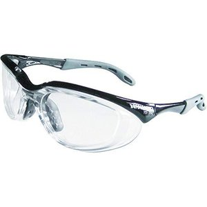 YAMAMOTO(山本光学) 保護めがね 2眼型 PET-AF YS390PETAFBLK (クリア/ブラック)|airymotion