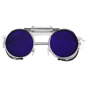 フリップ保護安全ゴーグル ラボラトリー保護メガネ 溶接用 ゴーグル メガネ 防塵 フリップアップ 軽量 耐久性|airymotion