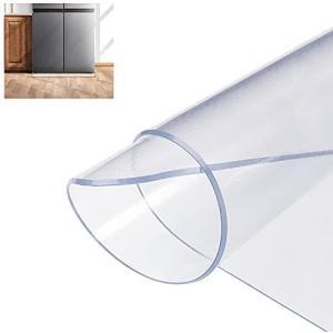 冷蔵庫 マット 床保護シート キズ防止 凹み防止 70cm*75cm 厚さ2mm 600Lクラス 無色 透明 変形しにくい (Large)|airymotion