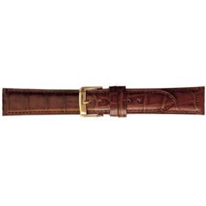 [バンビ]BAMBI 時計バンド 牛革 スコッチガード ブラウン 16mm BKM051CN BKM051CN (ブラウン 美錠:シルバー) airymotion