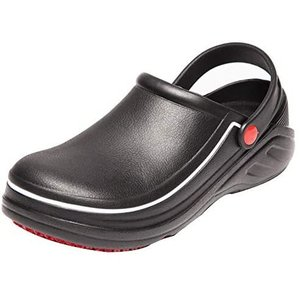 [Jonocas] キッチン水仕事作業靴厨房浴室サンダル安全油耐油防水滑り止男女兼用|airymotion
