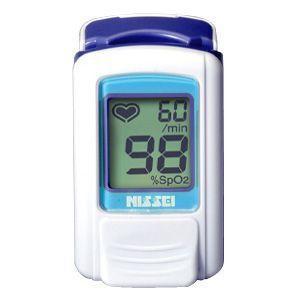 パルスオキシメーター パルスフィット BO-600 アジュールブルー (日本製) 血中酸素濃度計 aisanchi