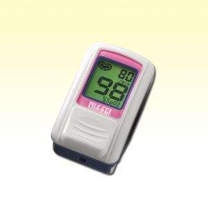 パルスオキシメーター パルスフィット BO-600 スイートピンク (日本製) 血中酸素濃度計 aisanchi