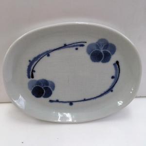 楕円皿(花)|aisato