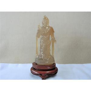 ◆ 商品名 (振り分け上の商品名)   【仏像 玉製 石製 中国 仏教美術 】 ■出品物は画像上の物...