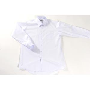 学生服 シャツ 日本製長袖カッターシャツ A体 ノンアイロン 日清紡ワイシャツ(Yシャツ)学生シャツ|aisle|02