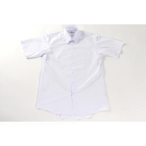 日本製男子半袖カッターシャツ 120A・130A・140A 小学生用 ノンアイロン 日清紡 ワイシャツ(Yシャツ)学生シャツ|aisle