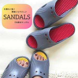 サンダル EVA 素材 ビビット シャワーサンダル Mサイズ レディース|aislipper