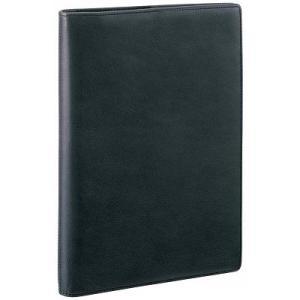 ダ・ヴィンチ スリムサイズ A5 システム手帳 スーパーロイスレザー ブラック JDA3003B 【レイメイシステム手帳】|aisol33