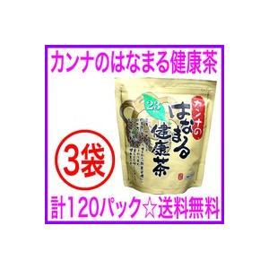 即納 OFFクーポン配布中「はなまる健康茶」カンナのはなまる健康茶(3袋)120パック入り 通販<送料無料&代引き無料> aiss
